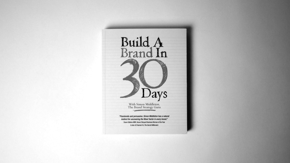 Book Club: Build a Brand in 30 Days – Simon Middleton